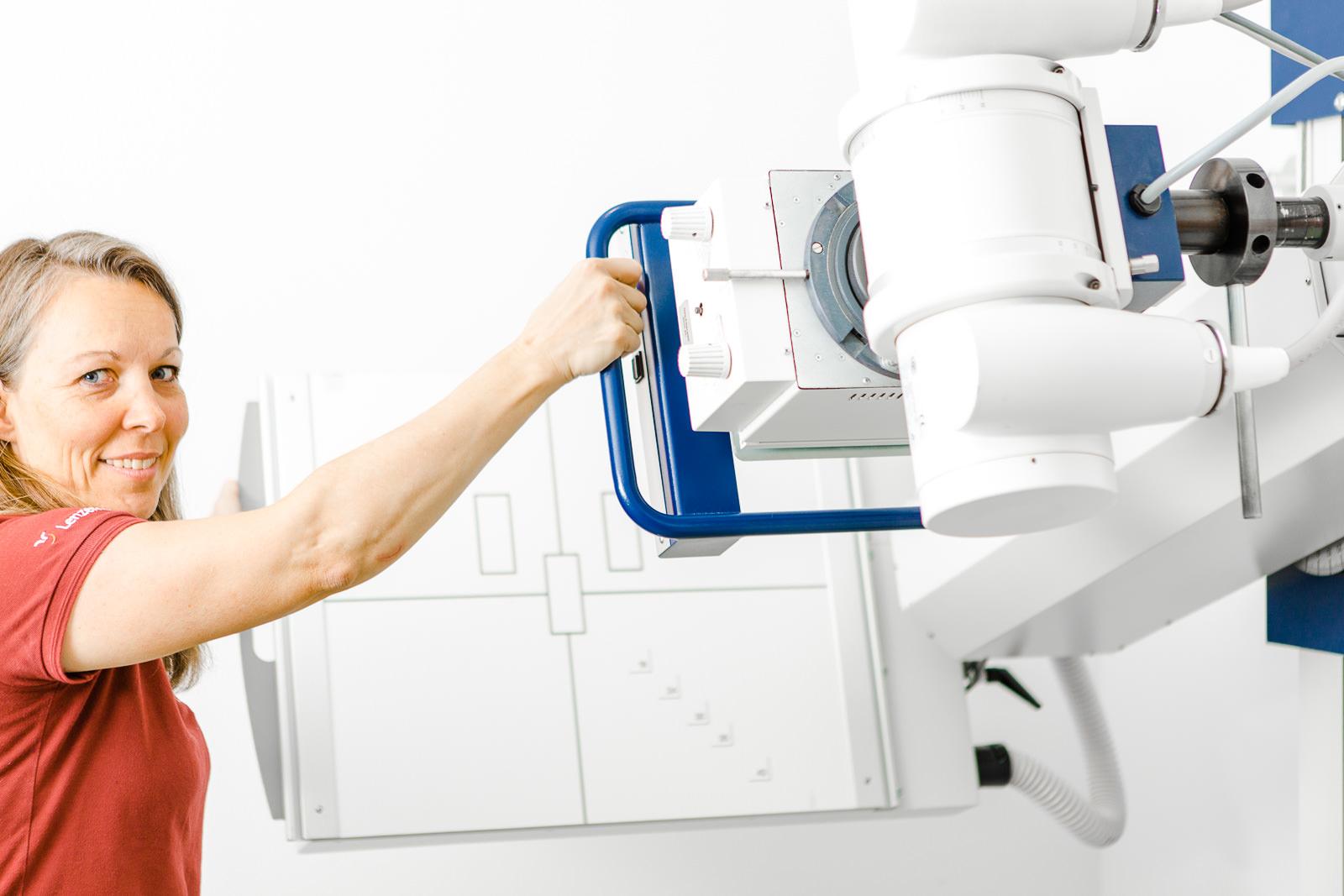Digitales Röntgen bei Unfälle und Knochenbruch